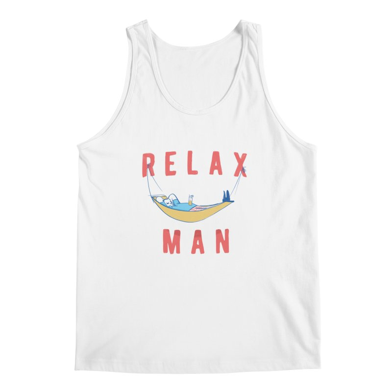 Relax Man Men's Tank by adamrajcevich's Artist Shop