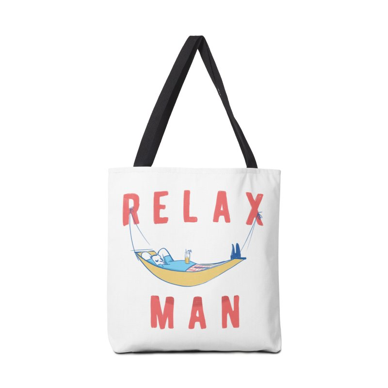Relax Man Accessories Bag by adamrajcevich's Artist Shop