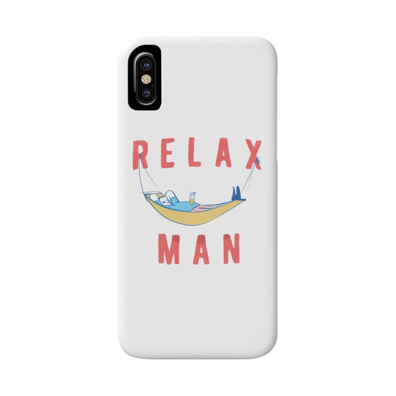 Relax Man Accessories Phone Case by adamrajcevich's Artist Shop