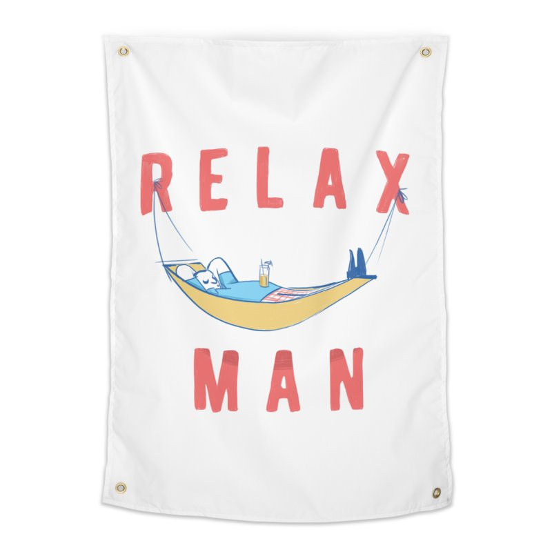 Relax Man Home Tapestry by adamrajcevich's Artist Shop