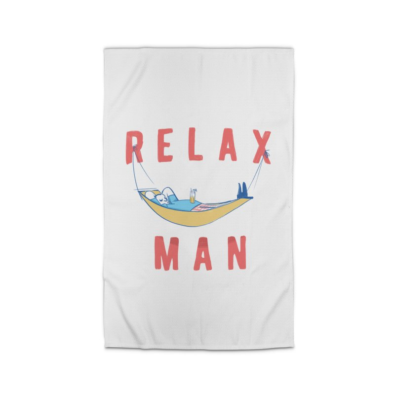 Relax Man Home Rug by adamrajcevich's Artist Shop