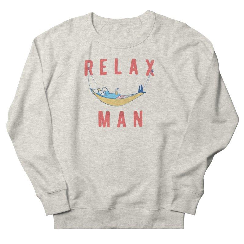 Relax Man Men's Sweatshirt by adamrajcevich's Artist Shop