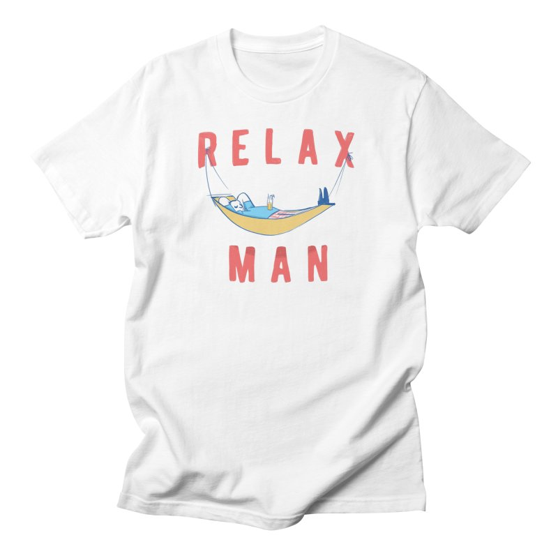 Relax Man Men's T-Shirt by adamrajcevich's Artist Shop