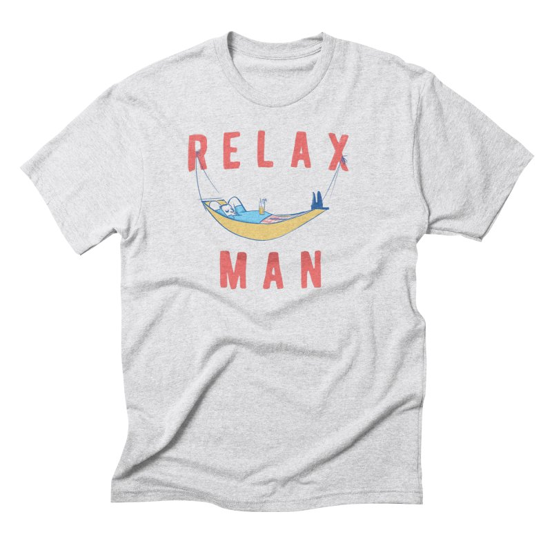 Relax Man Men's Triblend T-Shirt by adamrajcevich's Artist Shop
