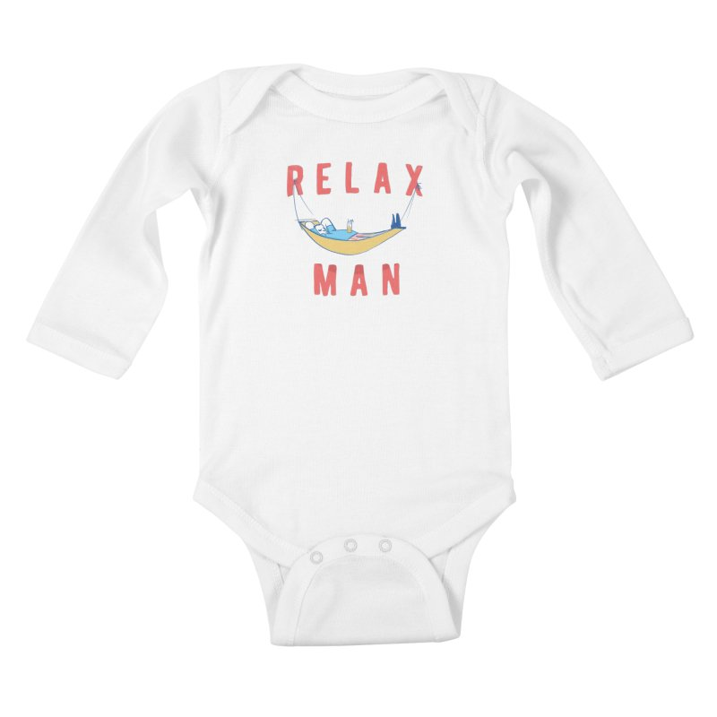 Relax Man Kids  by adamrajcevich's Artist Shop