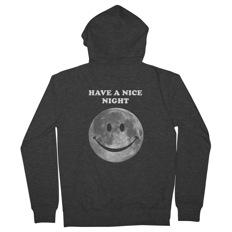 HAVE A NICE NIGHT Men's French Terry Zip-Up Hoody by adamrajcevich's Artist Shop