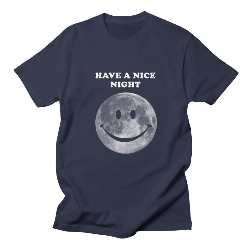 HAVE A NICE NIGHT Men's Regular T-Shirt by adamrajcevich's Artist Shop