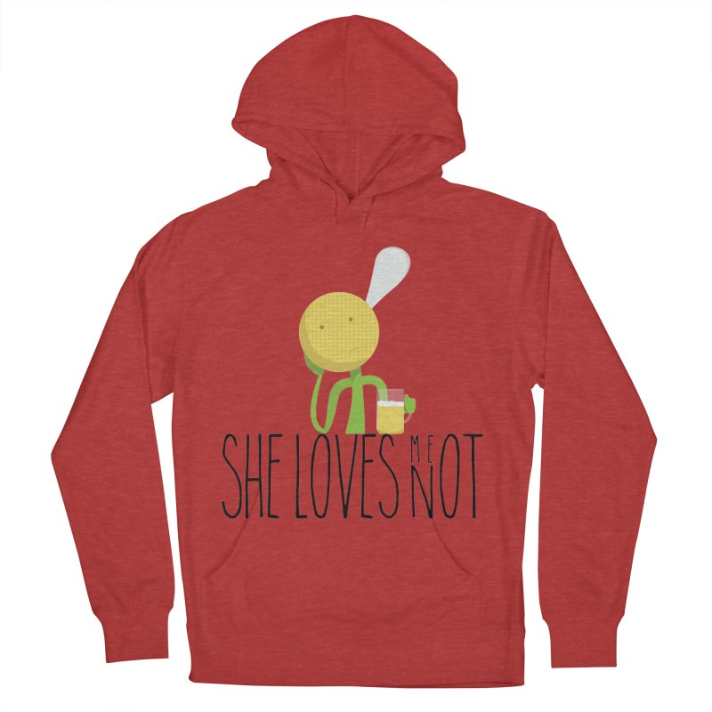 She Loves Me Not Men's Pullover Hoody by adamrosson's Artist Shop