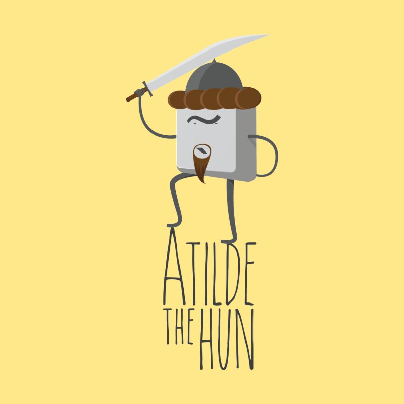 Atilde the Hun Women's V-Neck by adamrosson's Artist Shop