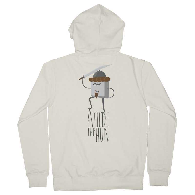 Atilde the Hun Women's Zip-Up Hoody by adamrosson's Artist Shop