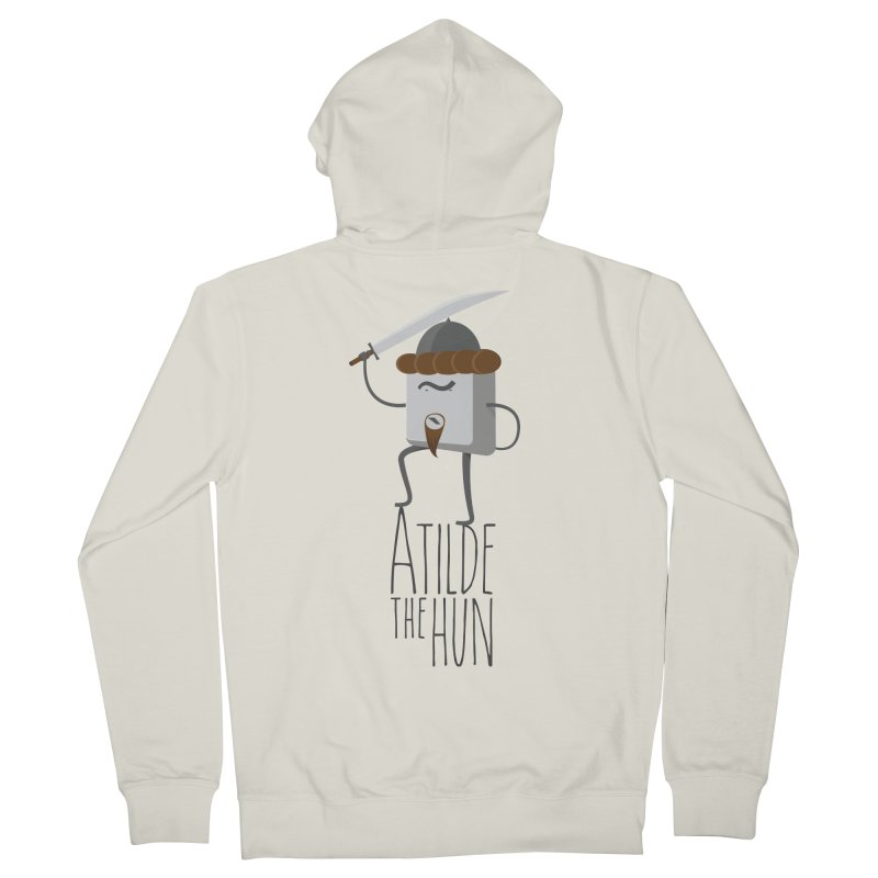 Atilde the Hun Men's Zip-Up Hoody by adamrosson's Artist Shop
