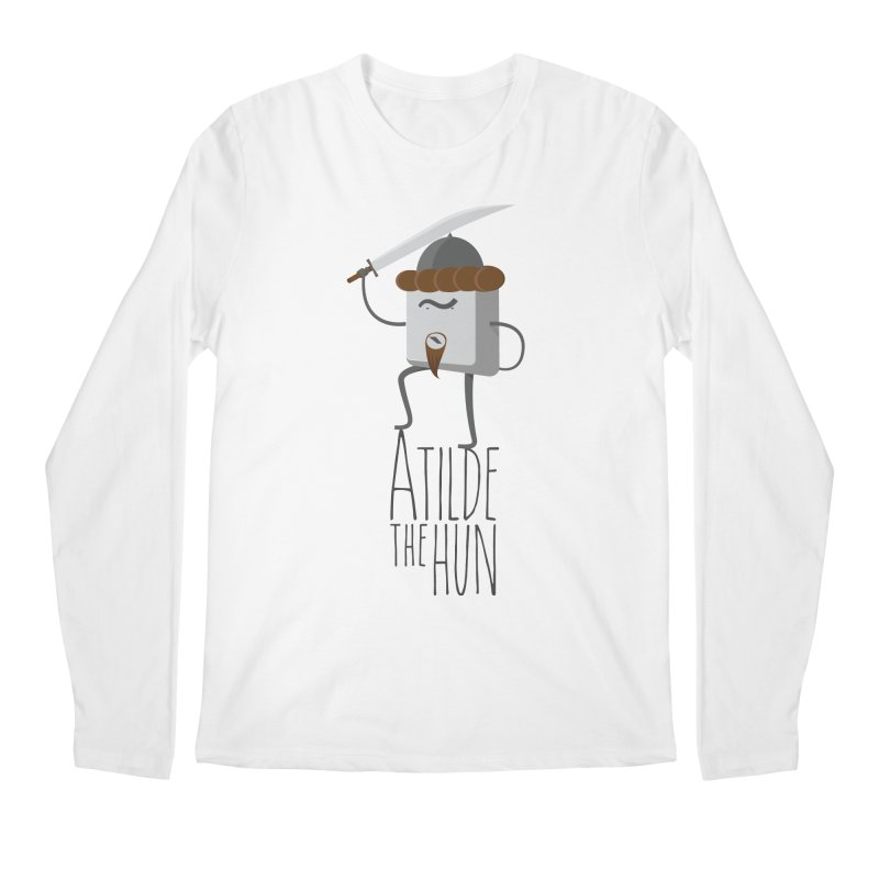 Atilde the Hun Men's Regular Longsleeve T-Shirt by adamrosson's Artist Shop