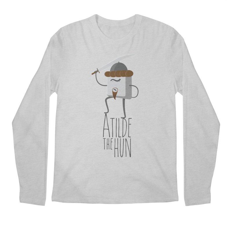 Atilde the Hun Men's Regular Longsleeve T-Shirt by adamrosson's Artist Shop