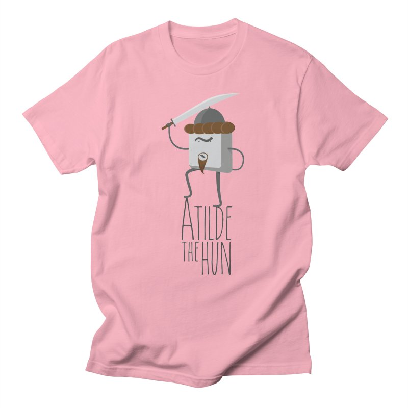 Atilde the Hun Men's T-Shirt by adamrosson's Artist Shop