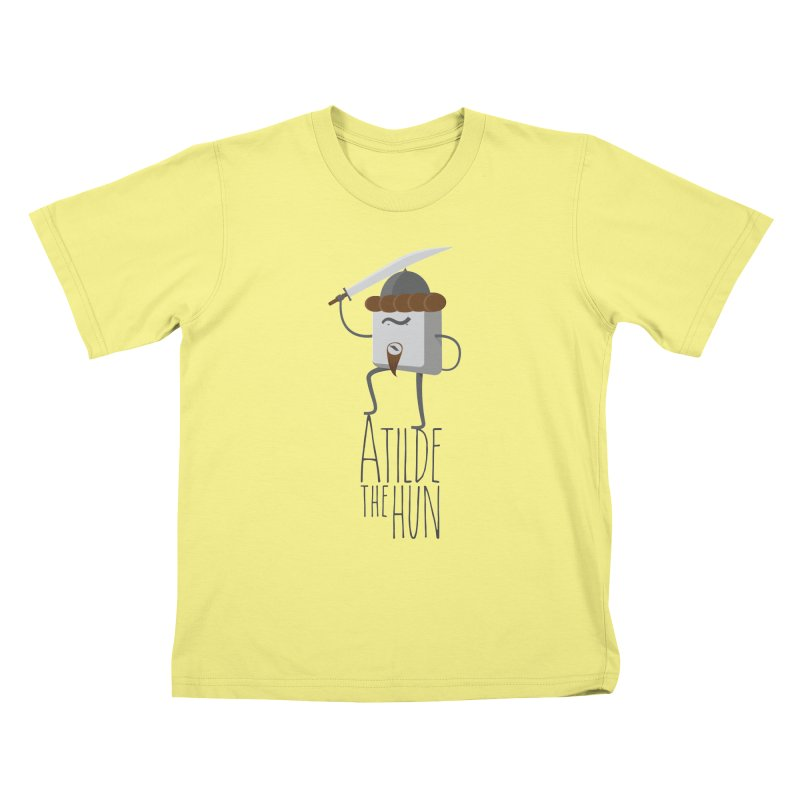 Atilde the Hun Kids T-shirt by adamrosson's Artist Shop