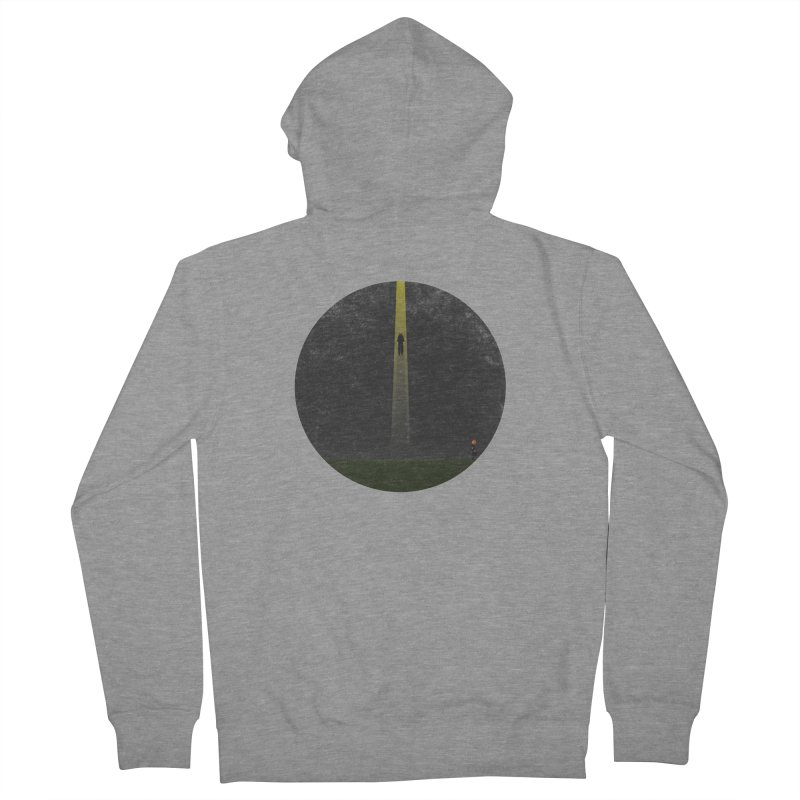Seeing is Believing Men's French Terry Zip-Up Hoody by adamrosson's Artist Shop