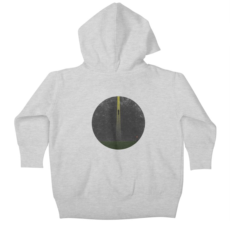 Seeing is Believing Kids Baby Zip-Up Hoody by adamrosson's Artist Shop