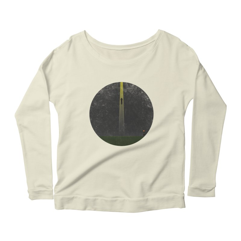 Seeing is Believing Women's Longsleeve Scoopneck  by adamrosson's Artist Shop