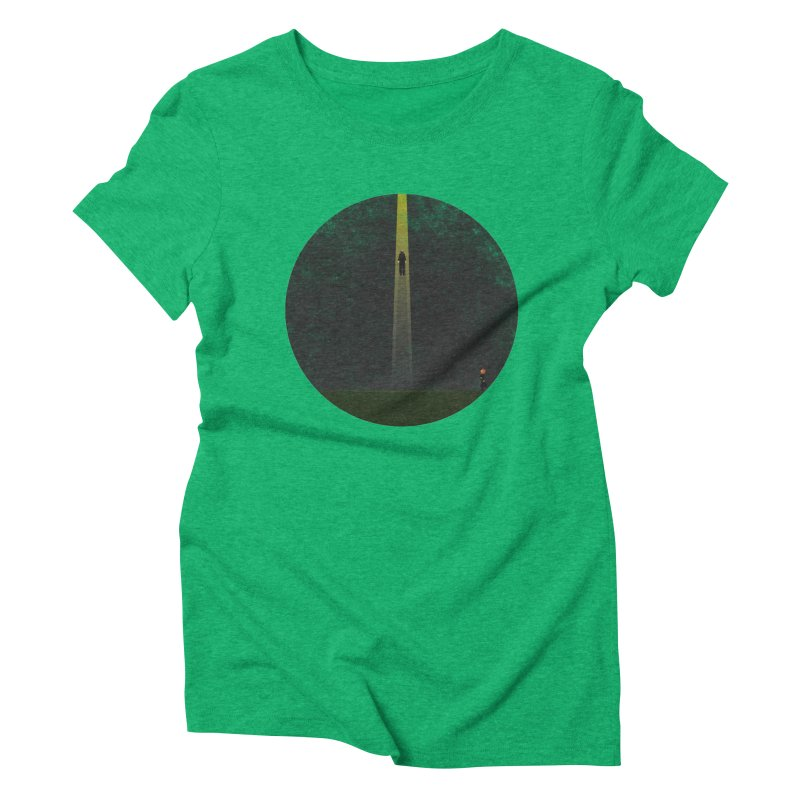 Seeing is Believing Women's Triblend T-Shirt by adamrosson's Artist Shop