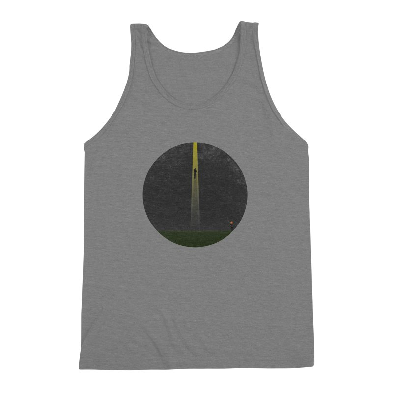 Seeing is Believing Men's Triblend Tank by adamrosson's Artist Shop