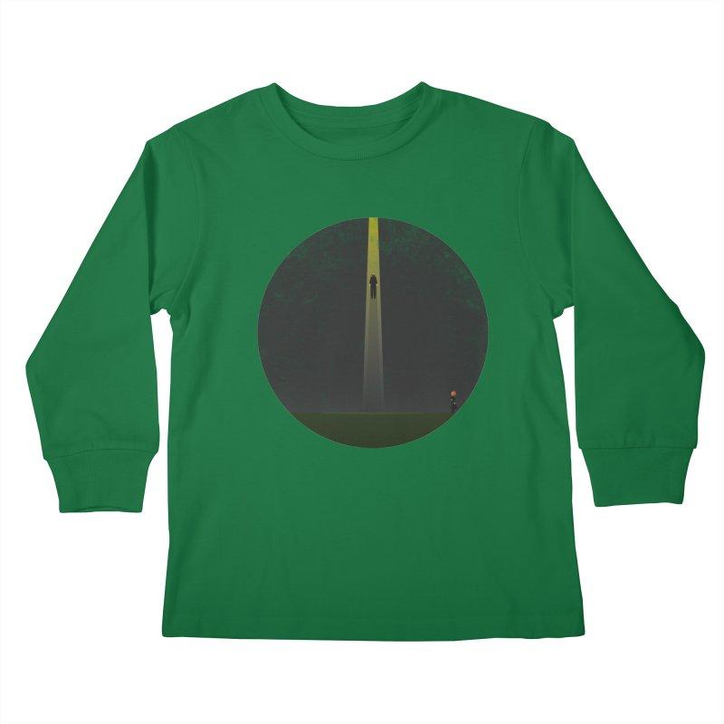 Seeing is Believing Kids Longsleeve T-Shirt by adamrosson's Artist Shop