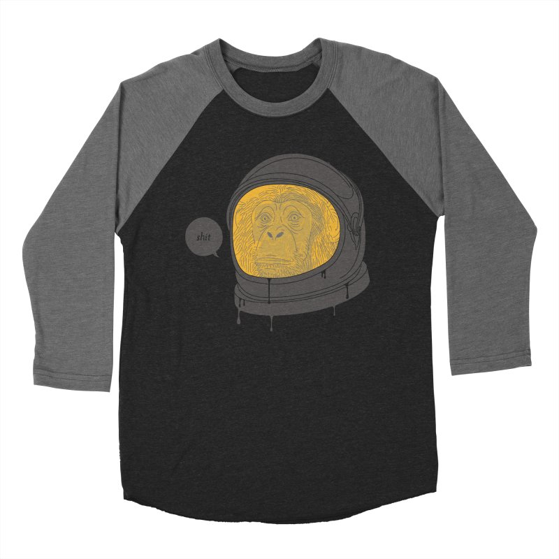 Apeshit Men's Baseball Triblend Longsleeve T-Shirt by Adam White's Shop