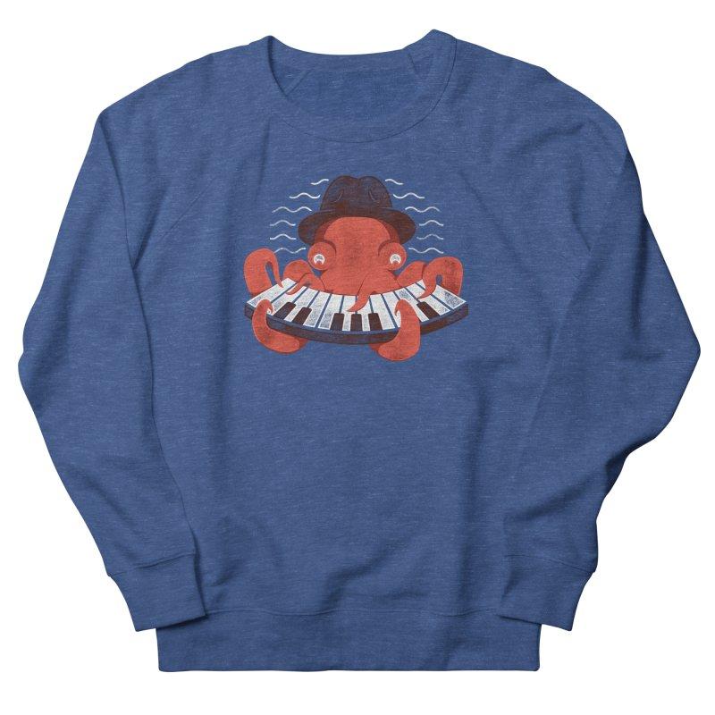 Deep Sea Blues Men's Sweatshirt by Adam White's Shop