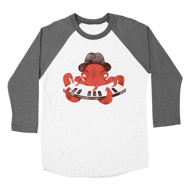 Deep Sea Blues Men's Baseball Triblend T-Shirt by Adam White's Shop