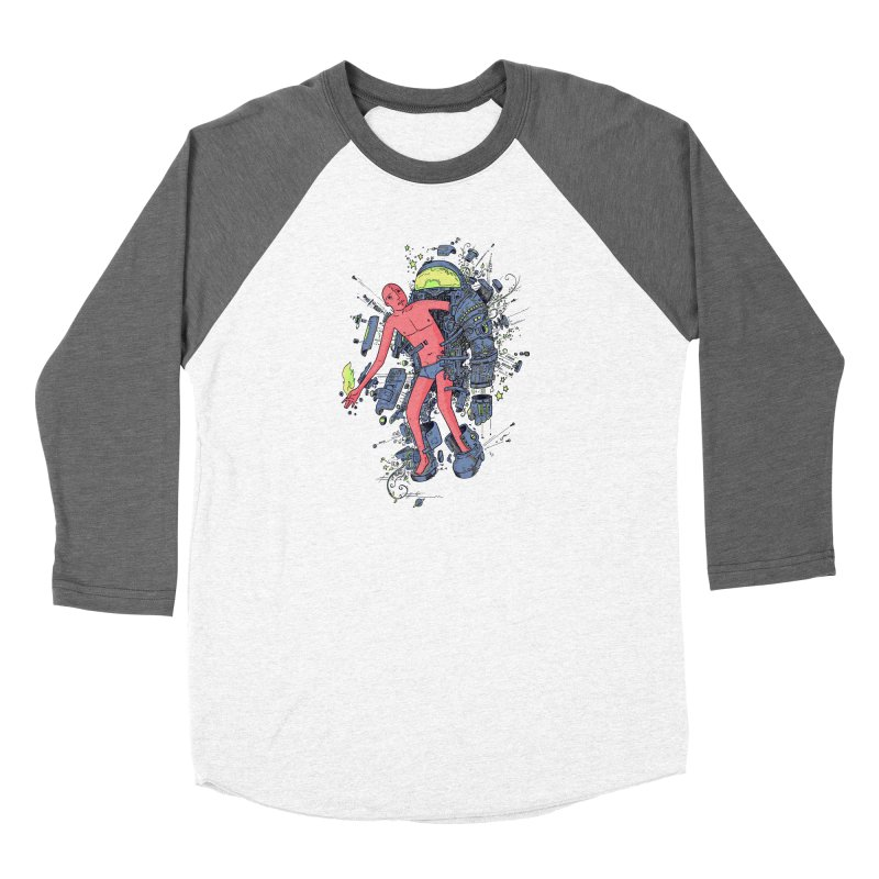 Disconnect Men's Baseball Triblend Longsleeve T-Shirt by Adam White's Shop