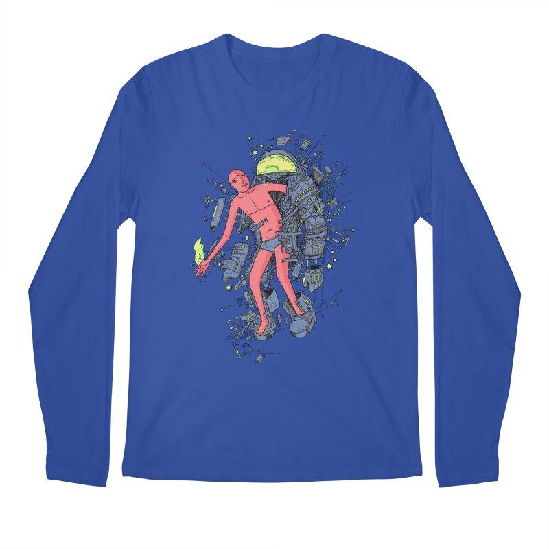 Disconnect Men's Regular Longsleeve T-Shirt by Adam White's Shop