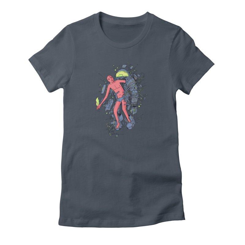 Disconnect Women's T-Shirt by Adam White's Shop