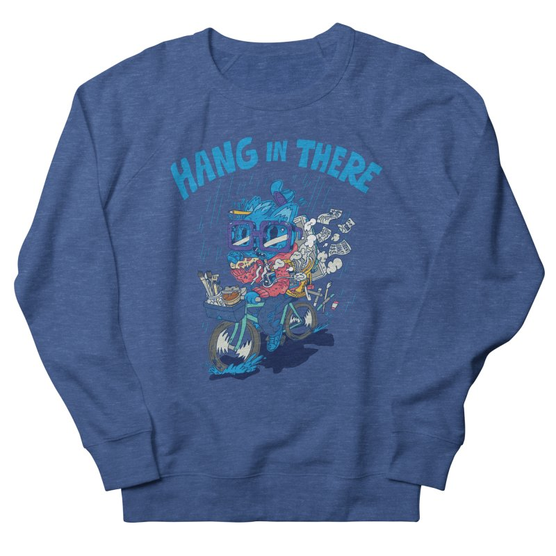 Hang in There Women's French Terry Sweatshirt by Adam White's Shop