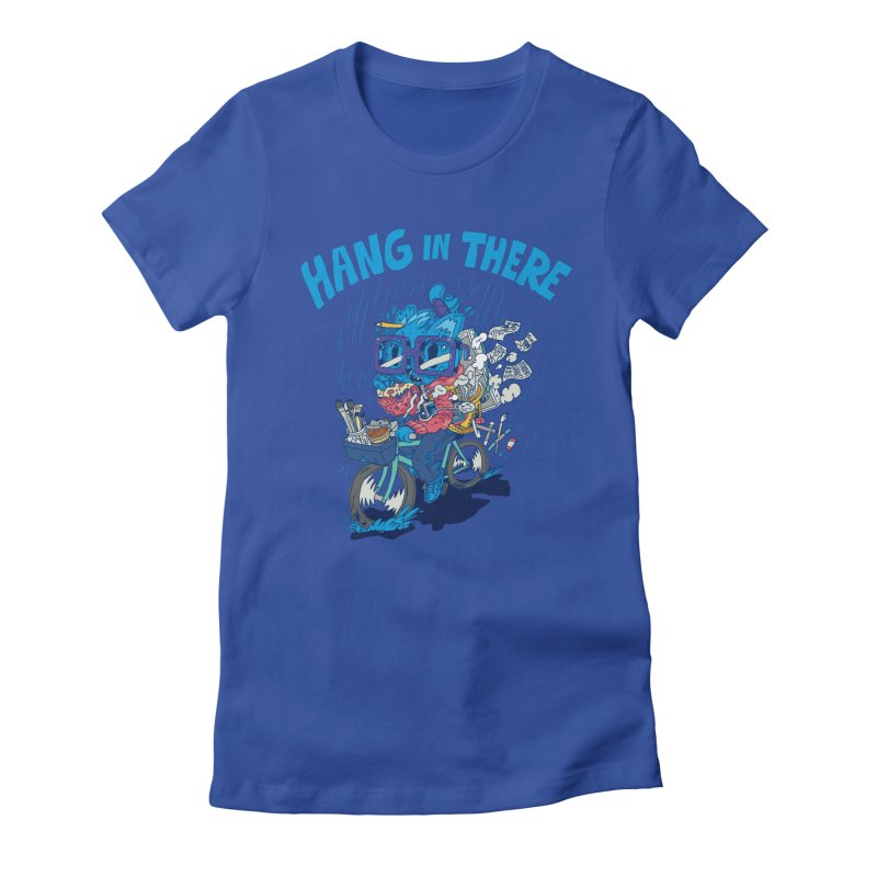 Hang in There Women's Fitted T-Shirt by Adam White's Shop