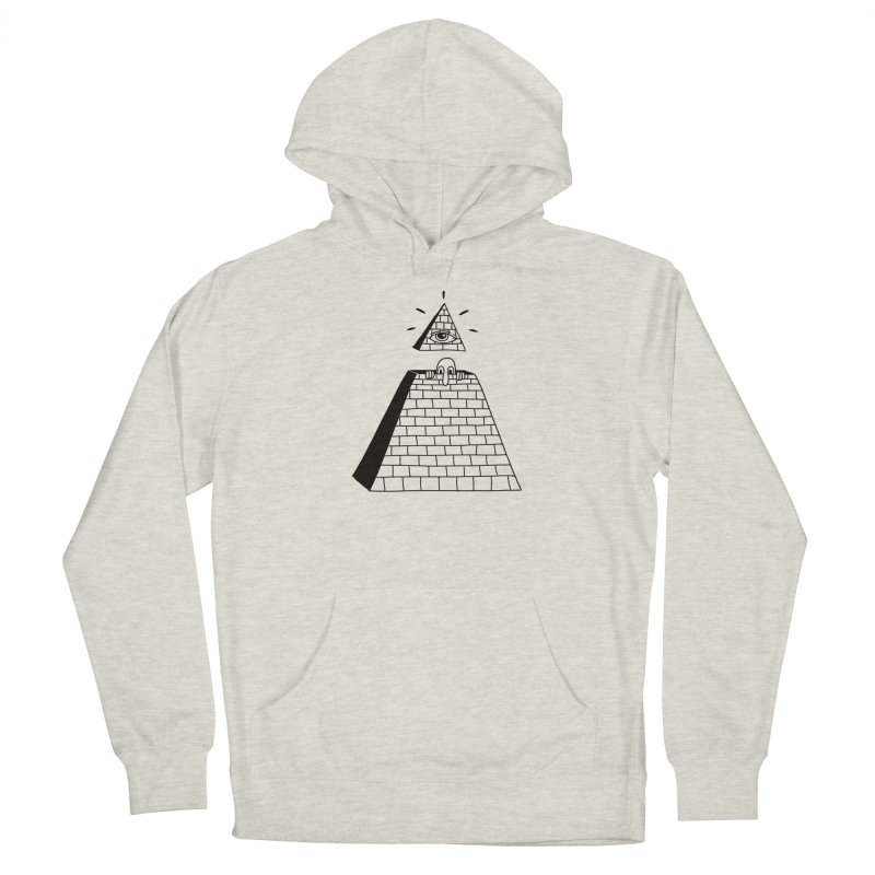 Hide and Seek Men's French Terry Pullover Hoody by Adam White's Shop