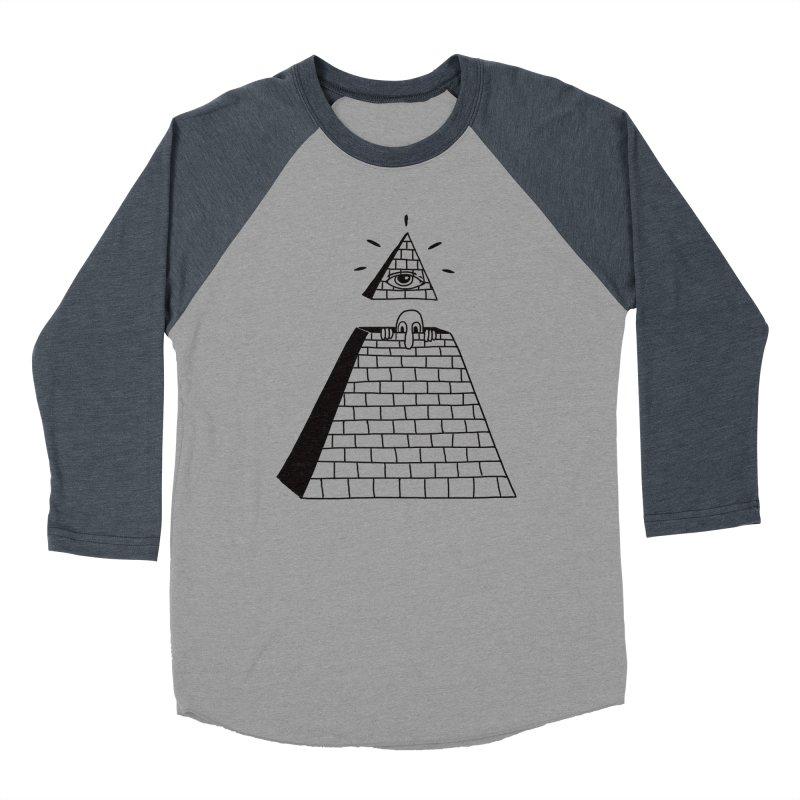 Hide and Seek Men's Baseball Triblend Longsleeve T-Shirt by Adam White's Shop