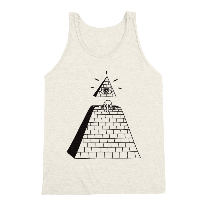 Hide and Seek Men's Triblend Tank by Adam White's Shop