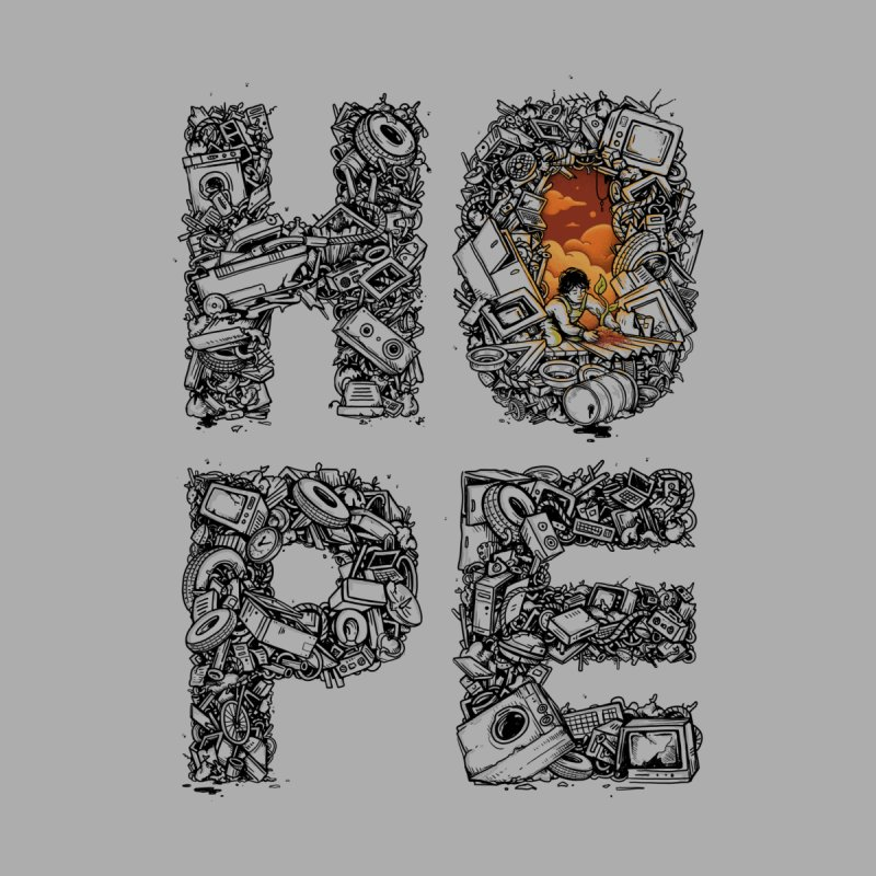 Hope Men's Sweatshirt by Adam White's Shop