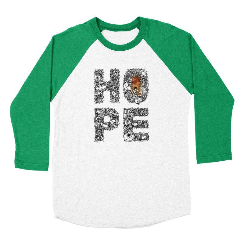 Hope Women's Baseball Triblend Longsleeve T-Shirt by Adam White's Shop