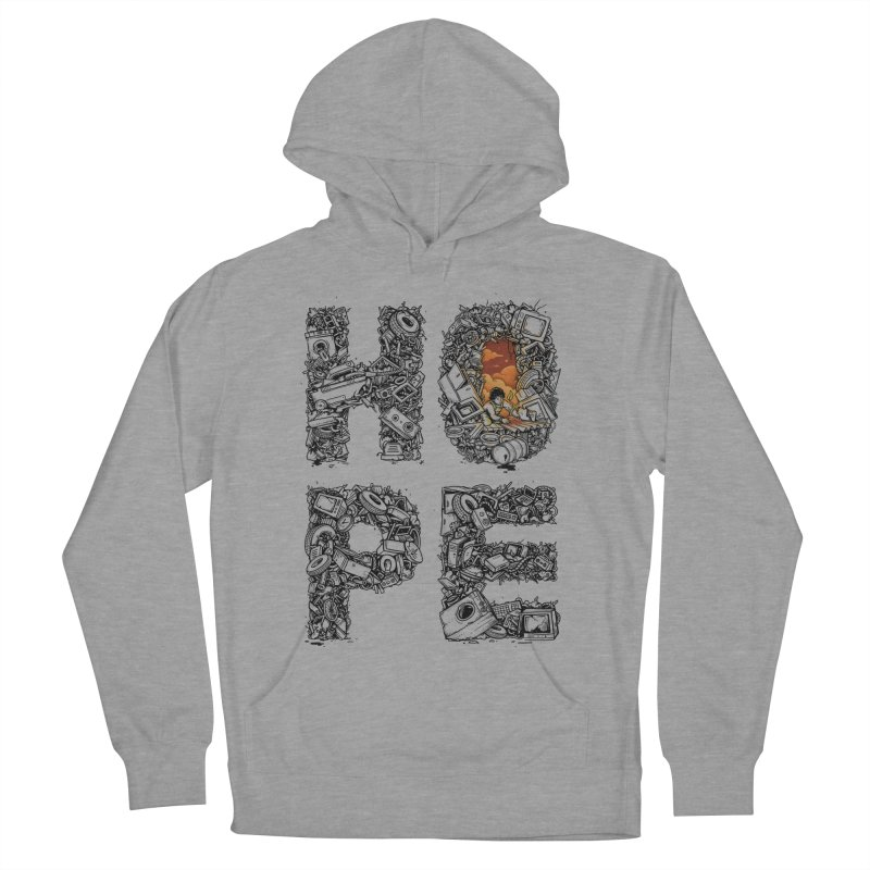 Hope Men's French Terry Pullover Hoody by Adam White's Shop