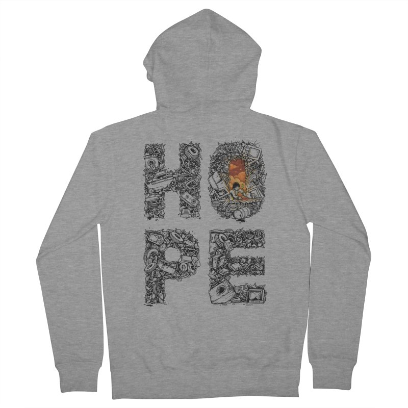 Hope Men's Zip-Up Hoody by Adam White's Shop