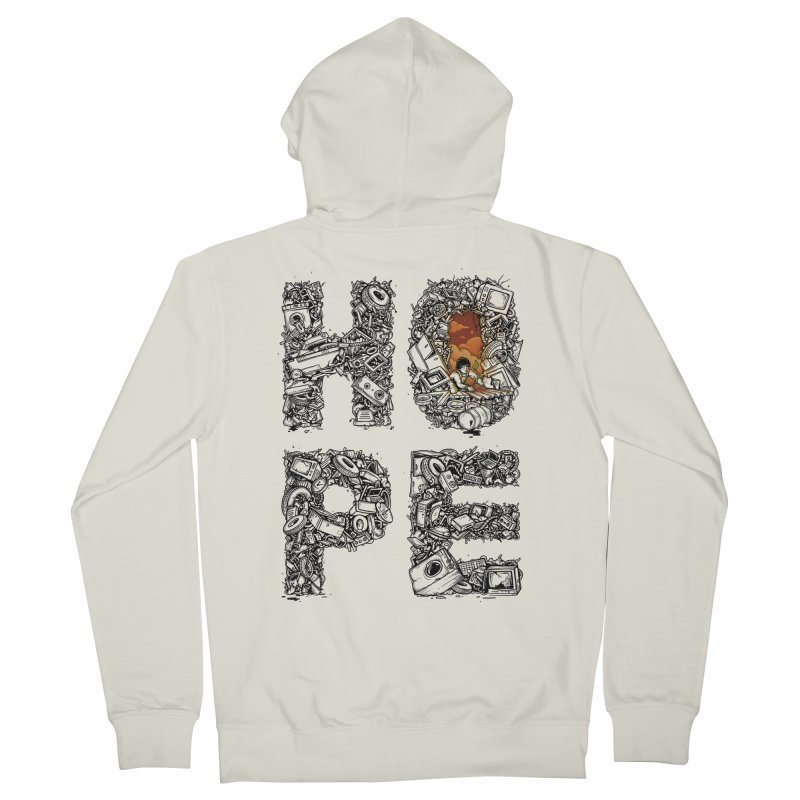 Hope Men's French Terry Zip-Up Hoody by Adam White's Shop