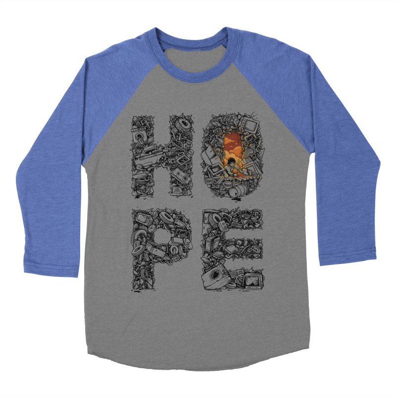 Hope Men's Baseball Triblend T-Shirt by Adam White's Shop