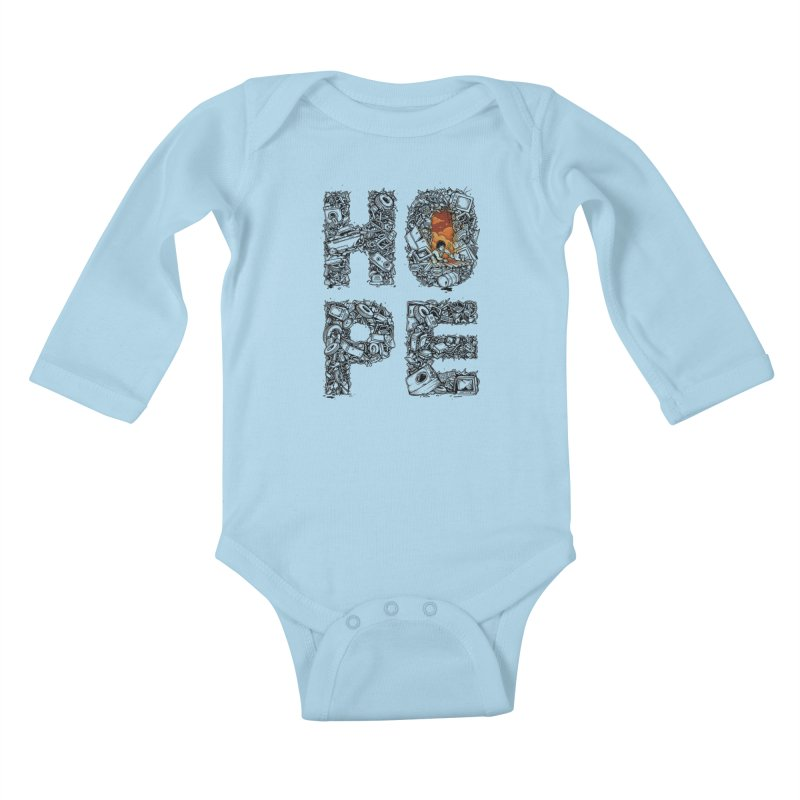 Hope Kids Baby Longsleeve Bodysuit by Adam White's Shop