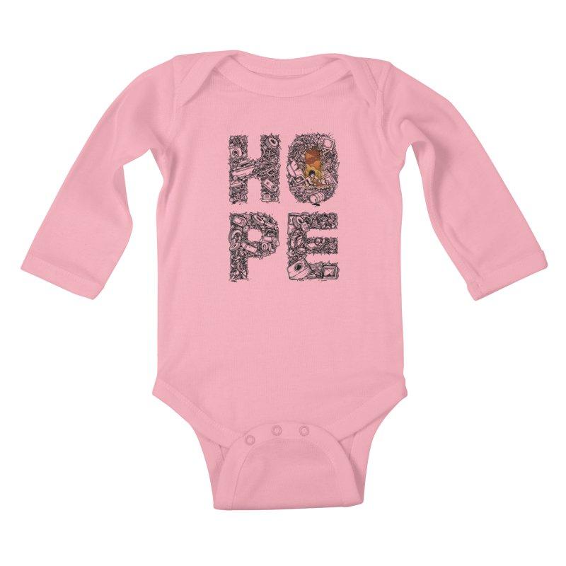 Hope Kids Baby Longsleeve Bodysuit by Adam White's Shop
