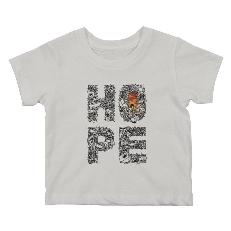 Hope Kids Baby T-Shirt by Adam White's Shop