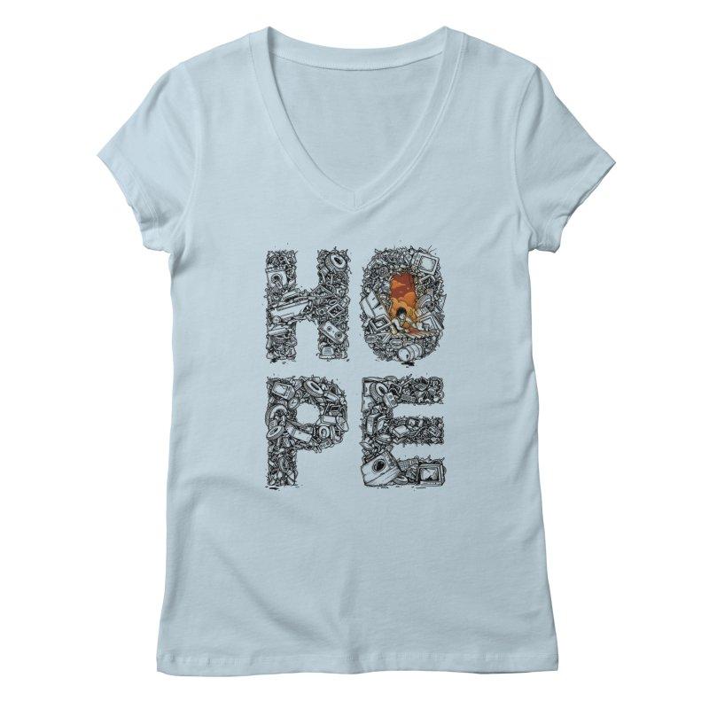 Hope Women's V-Neck by Adam White's Shop