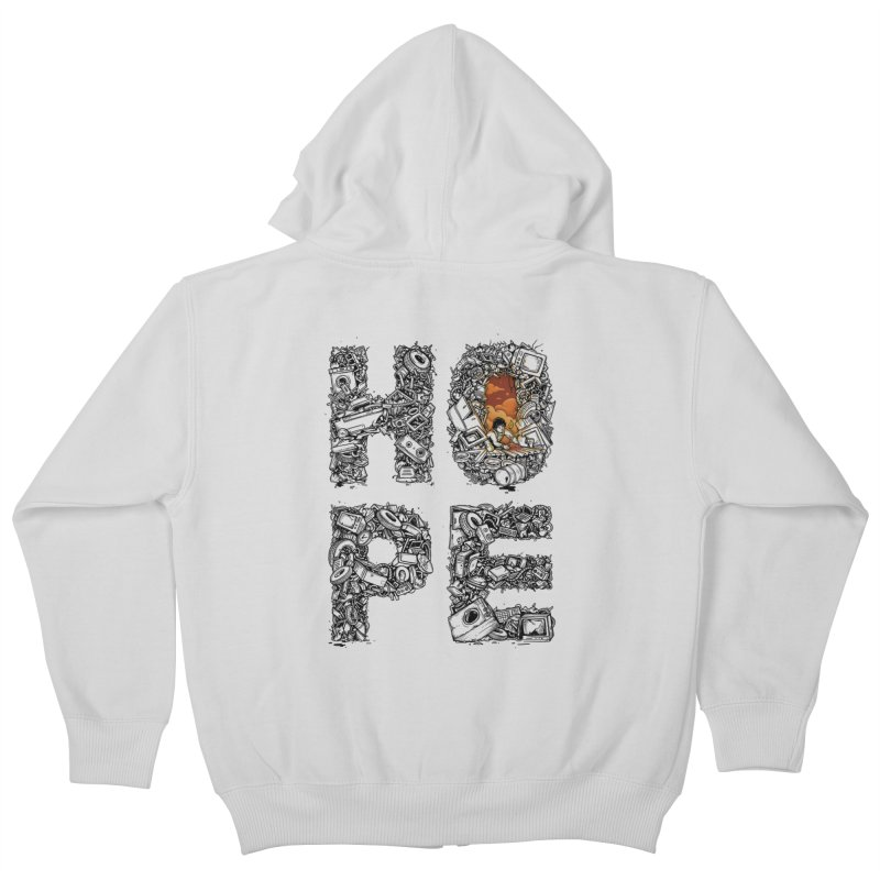 Hope Kids Zip-Up Hoody by Adam White's Shop