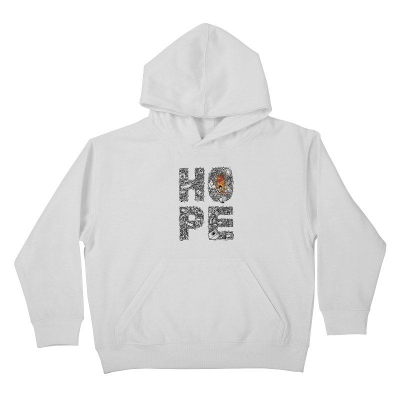 Hope Kids Pullover Hoody by Adam White's Shop