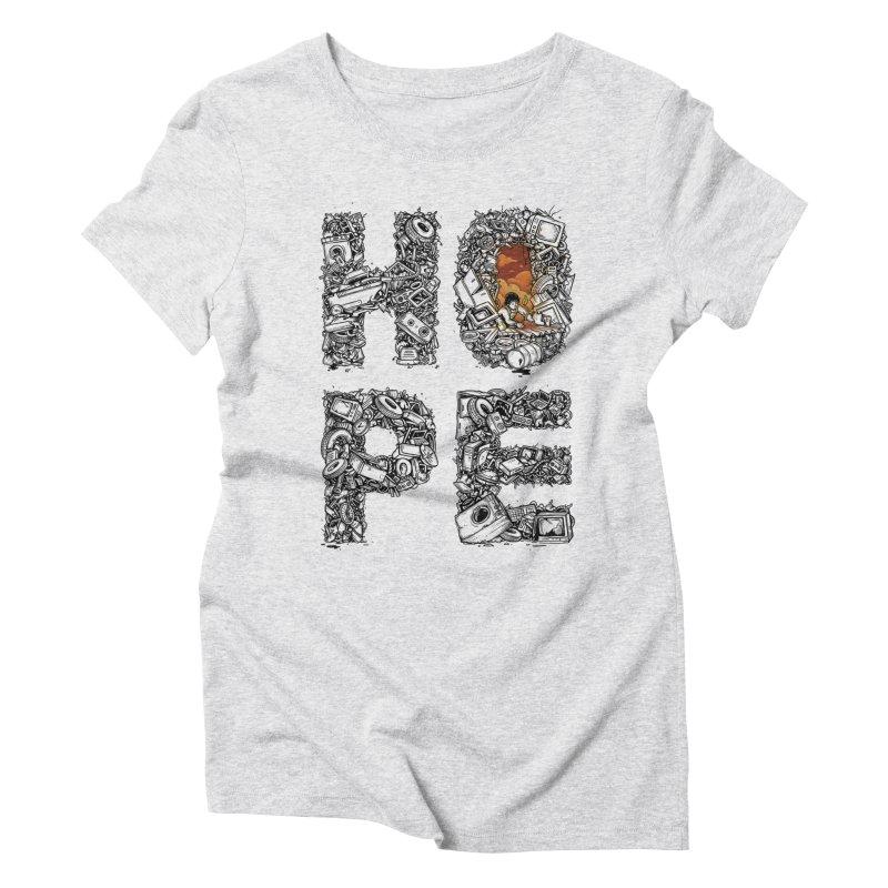 Hope Women's Triblend T-Shirt by Adam White's Shop