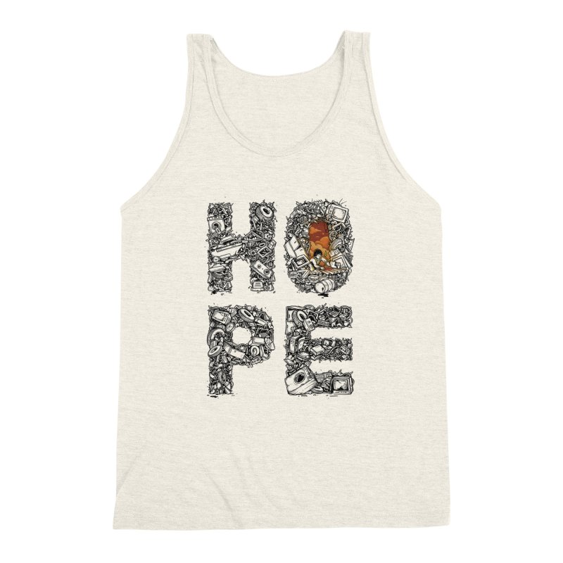 Hope Men's Triblend Tank by Adam White's Shop